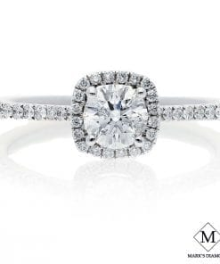 Halo Diamond Engagement RingsStyle #: FP25150MD