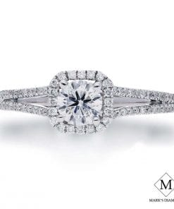 Halo Diamond Engagement RingsStyle #: FP25355