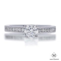 Diamond RingStyle #: iMARKS-FPA10E