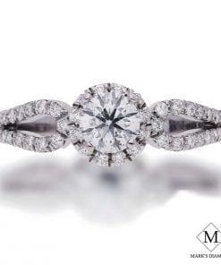 Halo Diamond Engagement RingsStyle #: FPA7