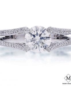 Filigree Diamond Engagement RingsStyle #: MD-00008