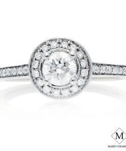 Halo Diamond Engagement RingsStyle #: MH995090