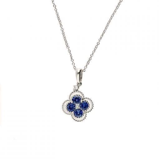 Sapphire NecklaceStyle #: iMARS-25932
