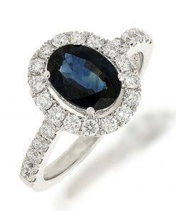 Sapphire  Fashion RingsStyle #: LQ10694L