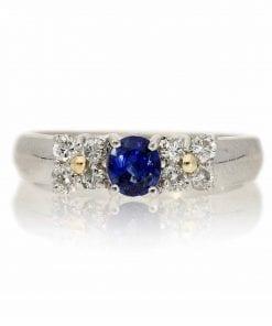 Sapphire  Fashion RingsStyle #: MHPLATINUM
