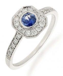 Sapphire  Fashion RingsStyle #: PD-LQ20269L
