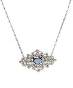 Sapphire  NecklacesStyle #: PD-LQ3107N