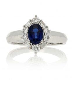 Sapphire  Fashion RingsStyle #: PD-LQ6225L