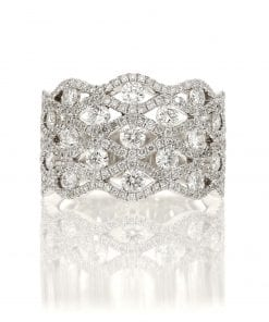 Glam Diamond Fashion RingStyle #: ANC-JA348