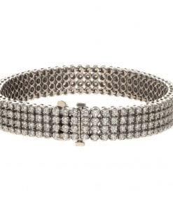 Modern Diamond BraceletStyle #: BR-1957