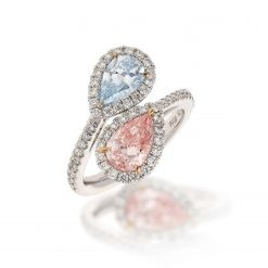 Pink Diamond Ring<br>Style #: MID-MD-FAS-RING-001