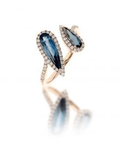 Modern London Topaz Fashion RingStyle #: NV1232