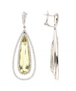 Modern Diamond EarringsStyle #: PD-72782
