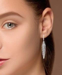 Modern Diamond EarringsStyle #: PD-LQ8381E