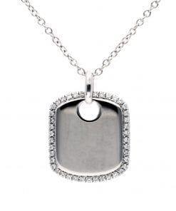 Simple Diamond PendantStyle #: PD10123166