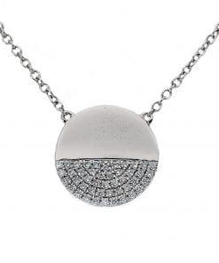 Simple Diamond PendantStyle #: PD10123174