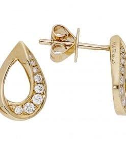 Simple Diamond EarringsStyle #: MARS-27234
