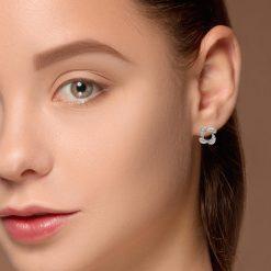 Diamond Earrings<br>Style #: iMARS-27235