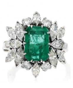 Glamorous  Emerald RingStyle #: MH-RING-EM001