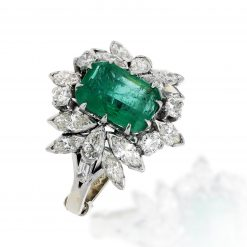 Emerald Ring<br>Style #: MH-RING-EM001