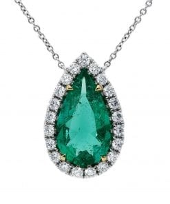 Glamorous  Emerald PendantStyle #: PD-10121973