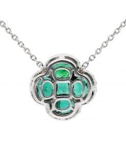 Glamorous  Emerald PendantStyle #: PD-10124903