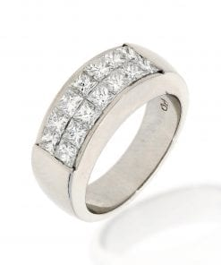 Classic Invisible Set Diamond RingStyle #: PD-33604