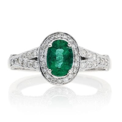 Glamorous  Emerald RingStyle #: PD-72028