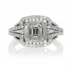 Emerald Cut Diamond Ring<br>Style #: PD-76140