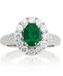 Glamorous  Emerald  RingStyle #: PD-90220