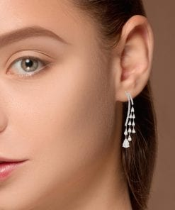 Modern Diamond EarringsStyle #: ANC-AA1222