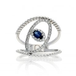 Sapphire Ring<br>Style #: ANC-AN5271
