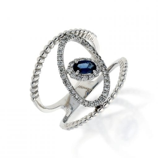 Sapphire RingStyle #: ANC-AN5271