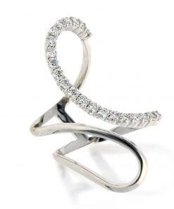 Modern Diamond RingStyle #: ANC-AN6770B
