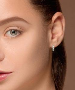Classic Diamond EarringsStyle #: ANC-JA481B