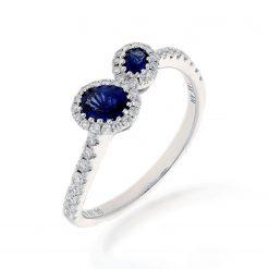 Sapphire Ring<br>Style #: ANC-MI133