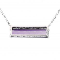 Amethyst NecklaceStyle #: ANC-NV1659