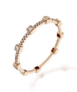 Modern Diamond RingStyle #: ANC-SH3112