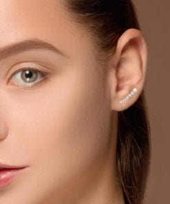 Modern Diamond EarringsStyle #: ANC-SHE061