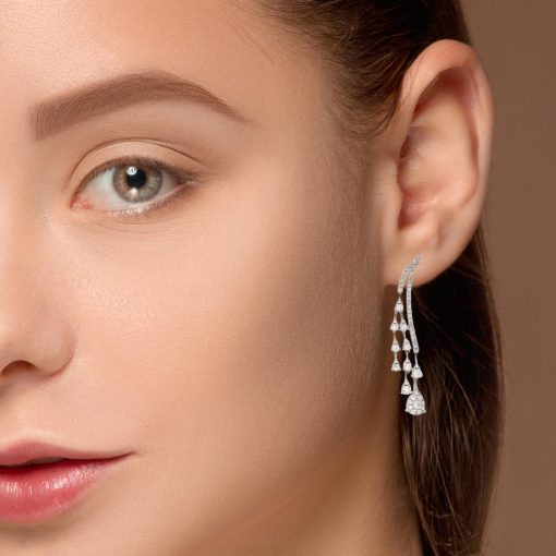 Diamond EarringsStyle #: ANC-AA1222