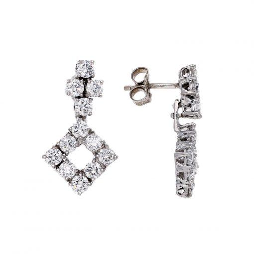 Diamond EarringsStyle #: JW-EAR-RB-006