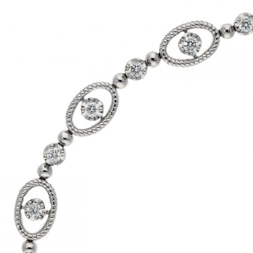 Diamond  Bracelet Style #: MARS-25890