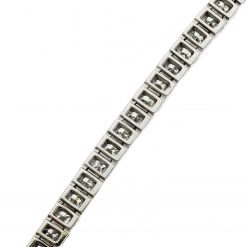 Princess Cut Diamond Bracelet<br>Style #: iMARS-BR2505