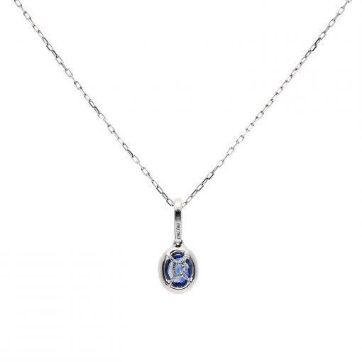 Sapphire NecklaceStyle #: MH-PENDANT-97209