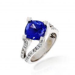 Tanzanite Ring<br>Style #: MH-Ring