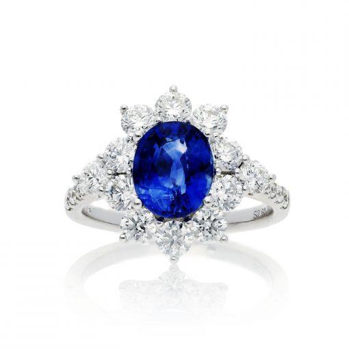 Sapphire RingStyle #: PD-LQ19504L