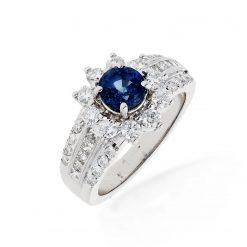 Sapphire Ring<br>Style #: PD-LQ7919L