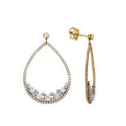 Diamond EarringsStyle #: PD-LQ8019E