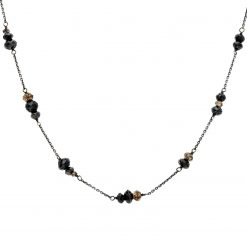 Black Diamond NecklaceStyle #: PD-LQ1947N