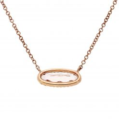 Morganite NecklaceStyle #: MARS-26922